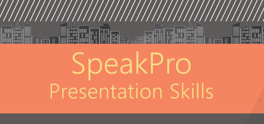 Cover photo spekpro presentation skills