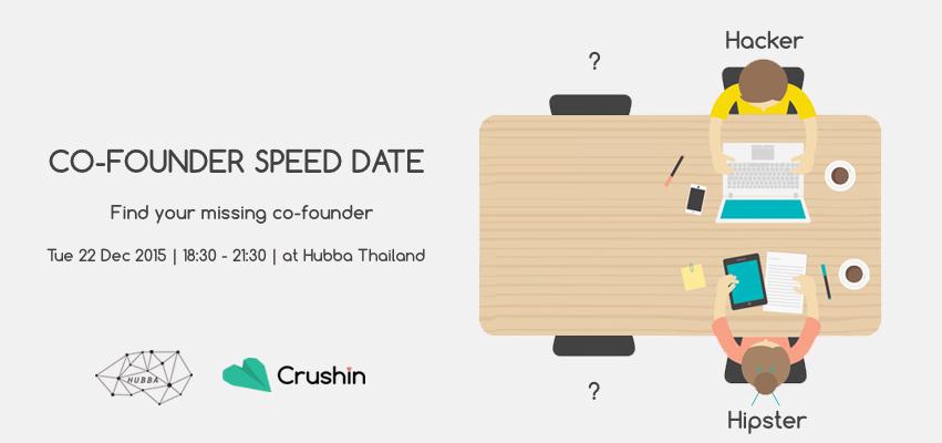 Cofounder speeddate banner
