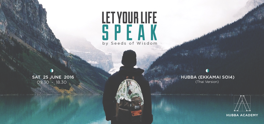 Let your life speak 04