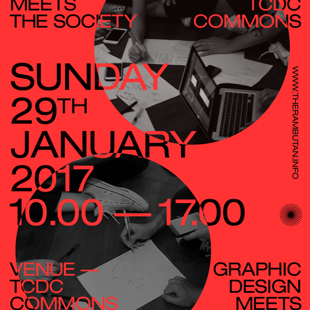 Aw the rambutan x tcdc commons poster 02